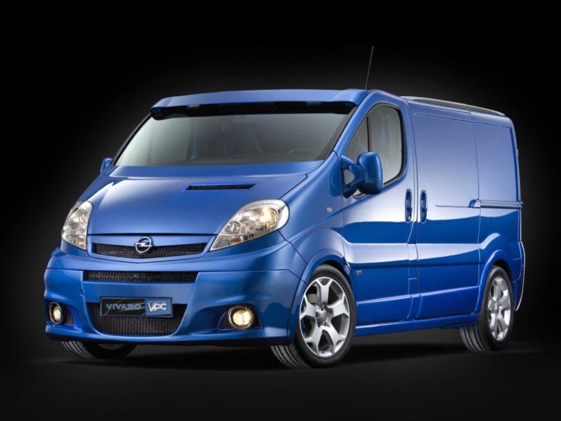 Opel Vivaro is vandaag een jarige miljonair